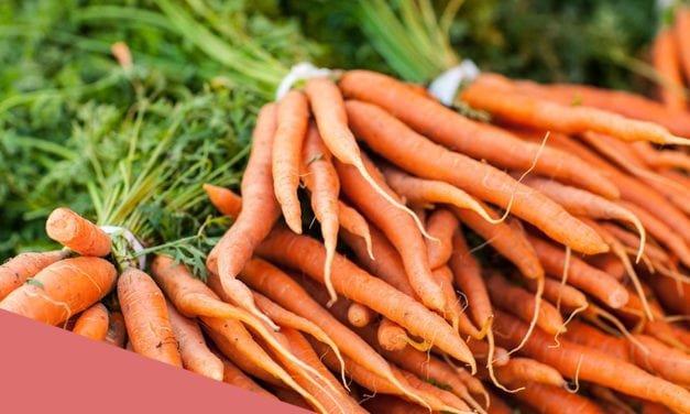 ¿Vemos mejor si comemos zanahoria?