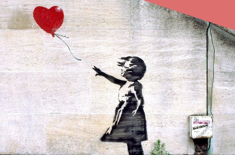 El arte efímero de Banksy