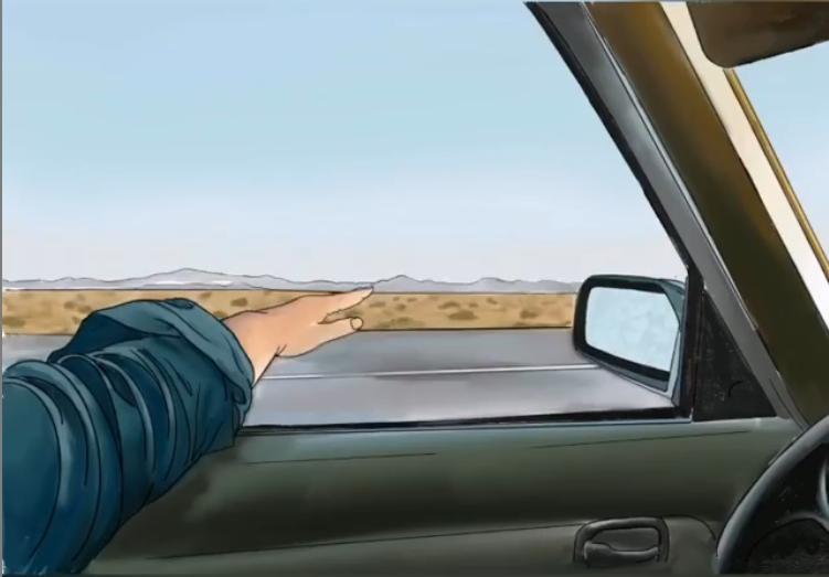 Viaje por Estados Unidos ilustrado