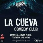 Vuelve La Cueva Comedy Club de golfoscomedians