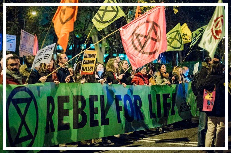 La emergencia climática y las consecuencias de la pandemia con Saúl Flores de Extinction Rebellion   Podcast   3×48