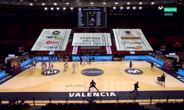 Liga Endesa: El Baskonia pulveriza al Bilbao Basket en Valencia