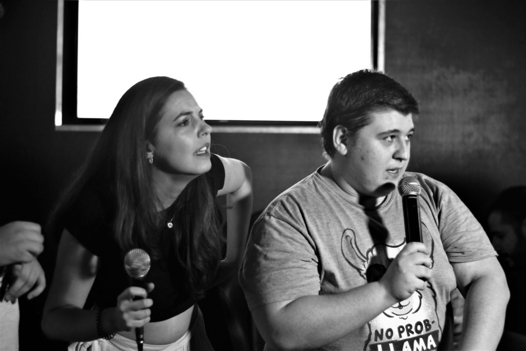 Ana Polo y Nacho Dillima en Comedy Con(Foto de Cake el funko)