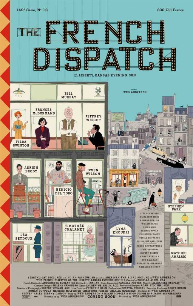 cartel the french dispatch