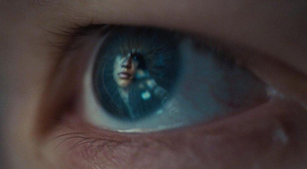 Jules observando una imagen de Rue